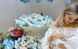 """Soția româncă a milionarului Anil Arjandas a născut! Ela a adus pe lume primul său copil, un băiețel: """"Cea mai mare binecuvântare"""""""