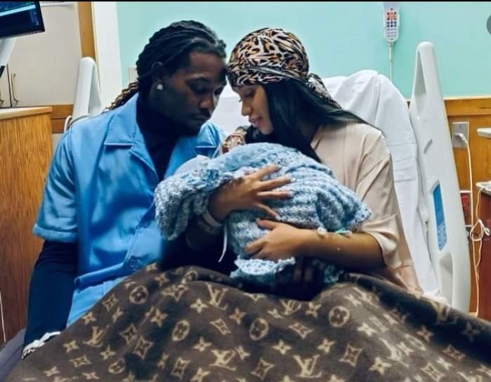 Cardi B a născut! Vedeta și soțul său, rapperul Offset, părinți pentru a doua oară / FOTO
