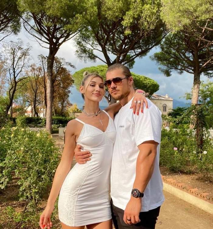 Alina Eremia, vacanță de vis alături de iubitul ei în Italia. Primele imagini cu cei doi îndrăgostiți \ VIDEO