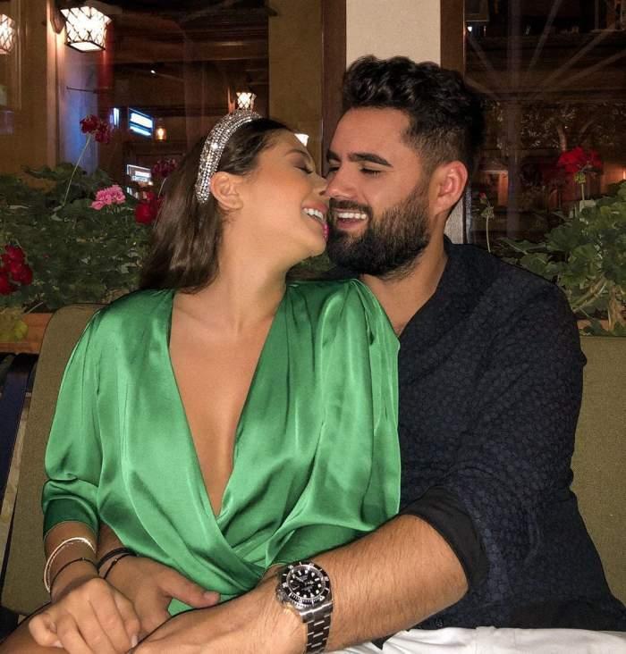 Nicole Cherry și Florin Popa, sărut pătimaș în public