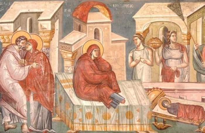 icoană cu Fecioara Maria
