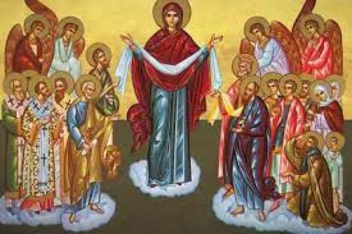 Maica Domnului printre sfinți
