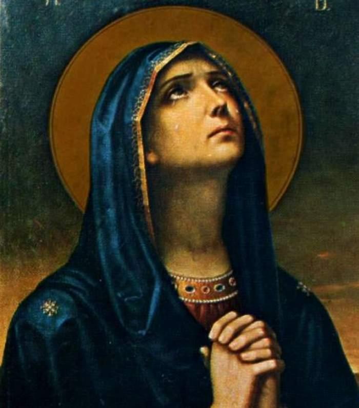 Maica Domnului care se roagă