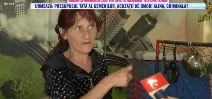 """Acces Direct. Bunica gemenilor din Ploiești ar fi amenințat-o cu moartea pe Alina. Tânăra s-a declarat speriată: """"O să te dau în judecată"""" / VIDEO"""