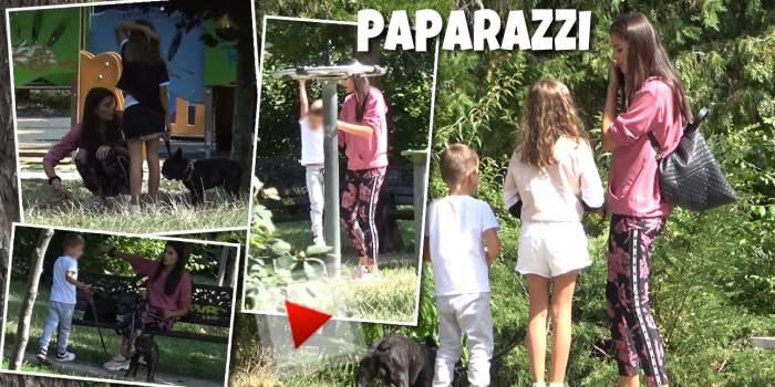 Ana Maria Popa, este o mamă de 10, dar nu și un cetățean model. Ce gest urât a făcut fosta soție a lui Costeluș Cășuneanu. A fost certată în public / PAPARAZZI