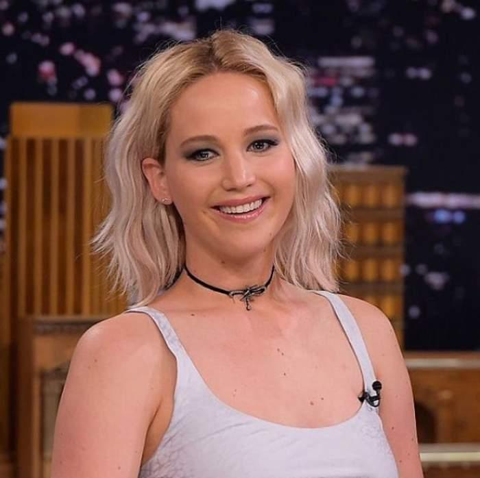 Jennifer Lawrence, într-o emisiune tv
