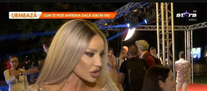 """Bianca Drăgușanu, despre cum a trecut pestre despărțirea de Gabi Bădălău: """"Eu mă distrez"""" / VIDEO"""