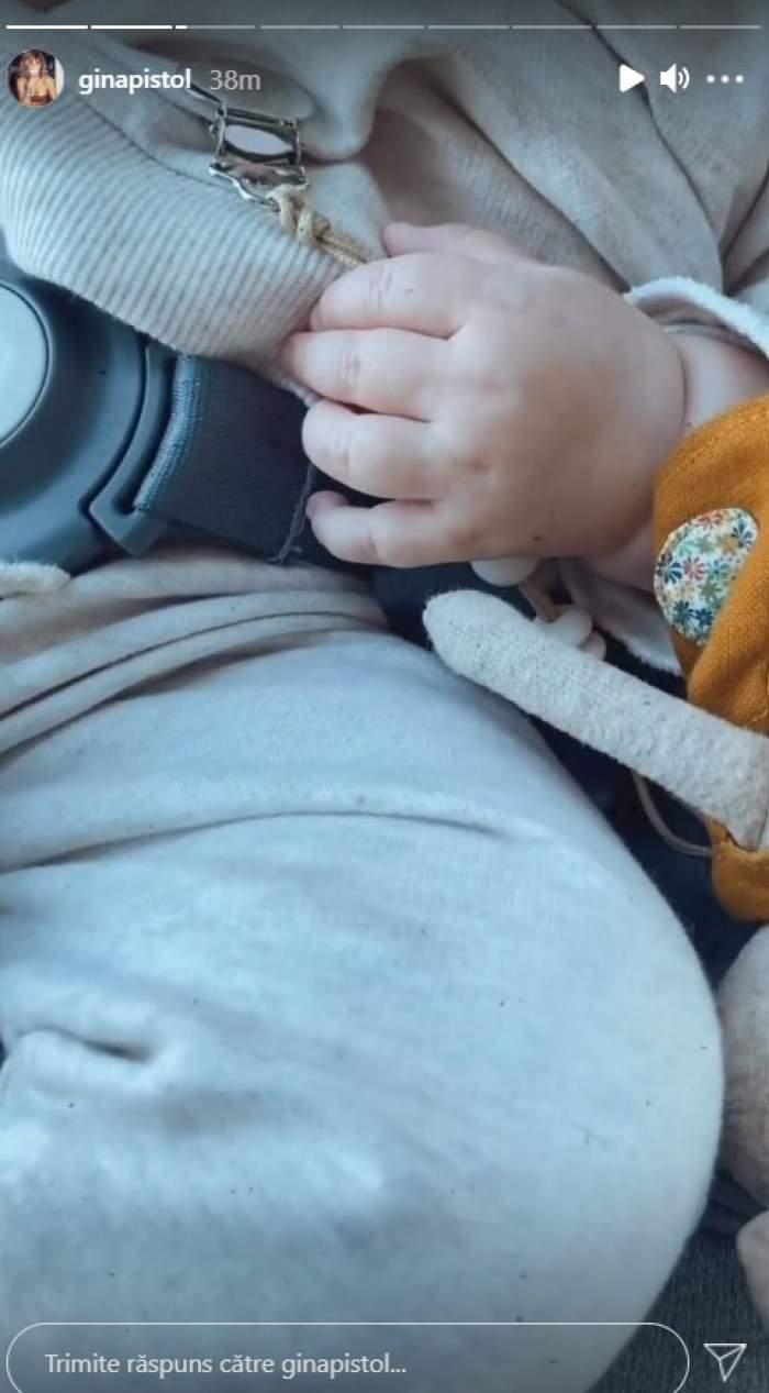 """Gina Pistol aniversează ziua fetiței la Untold. Josephine împlinește 6 luni: """"I-am organizat un festival de ziua ei"""" / VIDEO"""