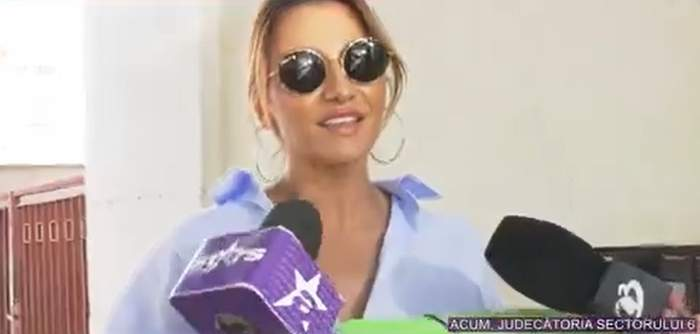 """Claudia Pătrășcanu, declarații înainte de a intra la tribunal. Cântăreața se întâlnește din nou cu Gabi Bădălău: """"Sper să fie ultimul termen"""" / VIDEO"""