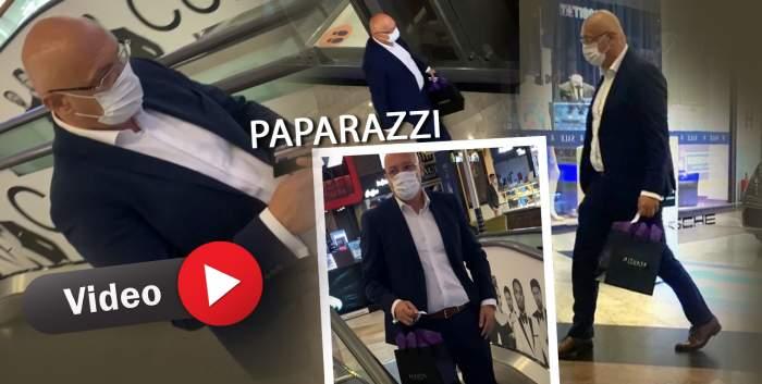 Și oficialii dau ture prin mall-uri. Raed Arafat, posomorât de problemele țării, s-a relaxat cumpărând parfumuri fine. Imagini rare cu șeful DSU / PAPARAZZI